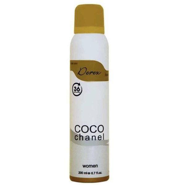 اسپری بدن زنانه دریکس مدل Coco chanel