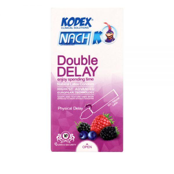 کاندوم تاخیری کدکس مدل Double Delay بسته 10 عددی