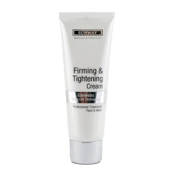 کرم سفت کننده پوست سان وی مدل Firmaing & Toghtening حجم 75 میلی لیتر