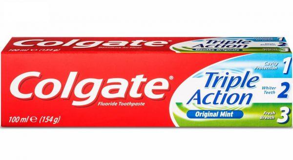 خمیر دندان کلگیت مدل Triple Action