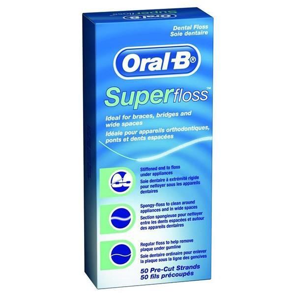 نخ دندان اورال-بی مدل Super Floss
