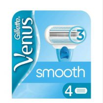 تیغ یدک ژیلت مدل Venus Smooth بسته 4 عددی