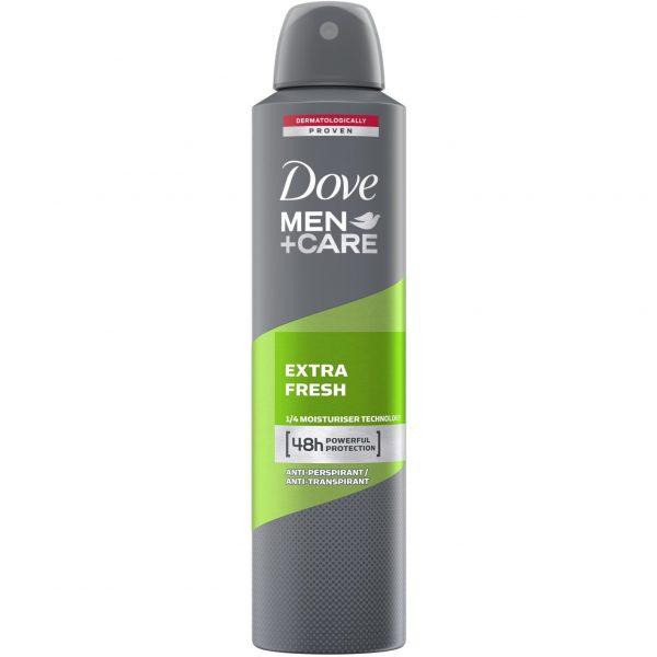 اسپری ضد تعریق مردانه داو مدل Extra Fresh حجم 250 میلی لیتر